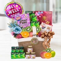 Vibrant Wishes - Get well hamper (healthy food)