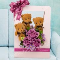 Bear & Bouquet