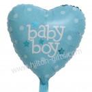 Baby Boy Blue Heart