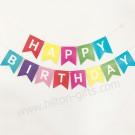 Birthday Banner - Colourful