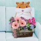 Hamster & Bouquet