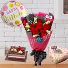 Hand Bouquet & Cake
