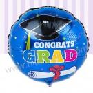 Graduation Blue Balloon