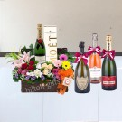 Moet  & Chandon ,Dom Perignon Hamper And Flower