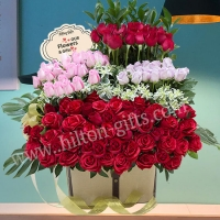 99 Table Bouquet Mix Roses