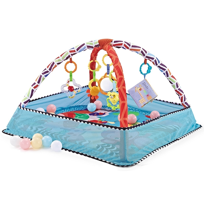 Baby Gym with colorful balls