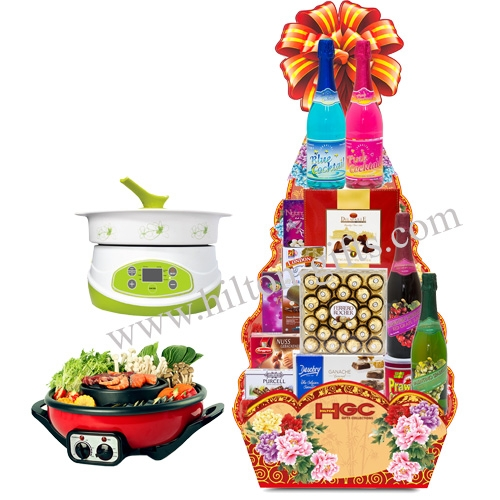 Non Alcohol Food Hampers (Halal Certified)
