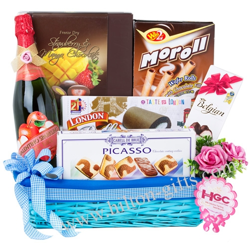 Non Alcohol Food Hamper (Halal Certified)