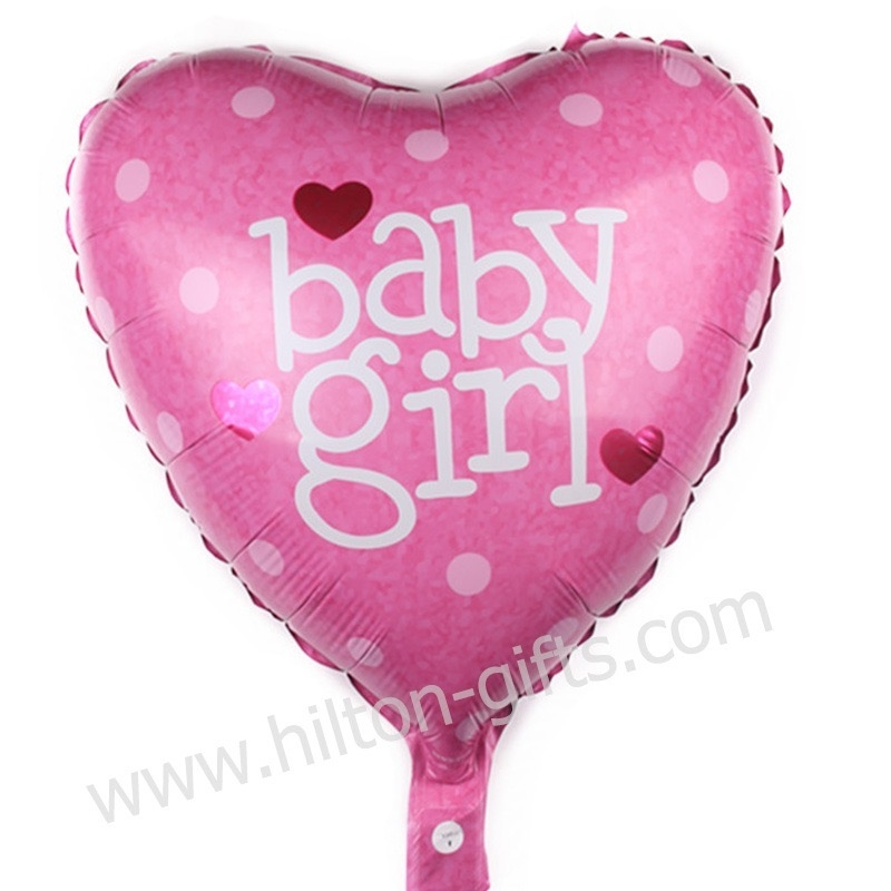 Baby Girl Pink (Heart)