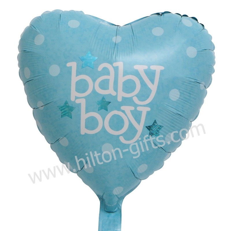 Baby Boy Blue Heart