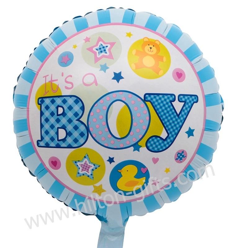 Baby Boy Blue (Round)