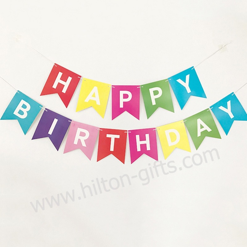 Birthday Banner - Colourful