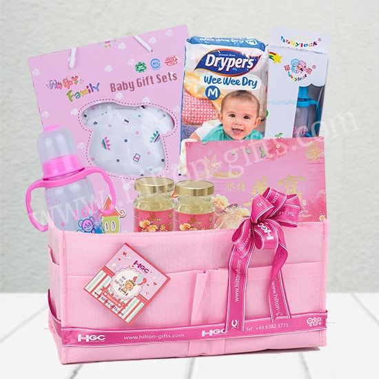 New Born Baby Hamper-Baby Girl