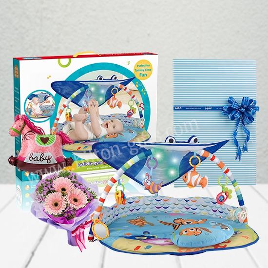 Musical Playmat with Flower