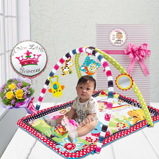 Baby Play Mat with Balloon
