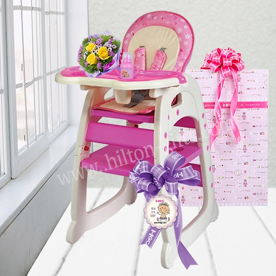 System High Chair & Table