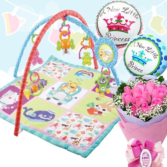 Colourful Activity Play Gym