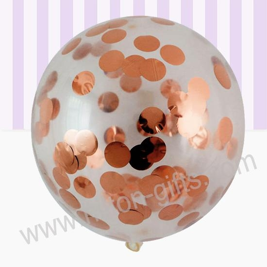 Confetti Latex Balloon