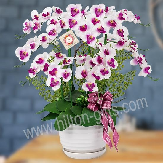 Artificial Orchid Table Flower