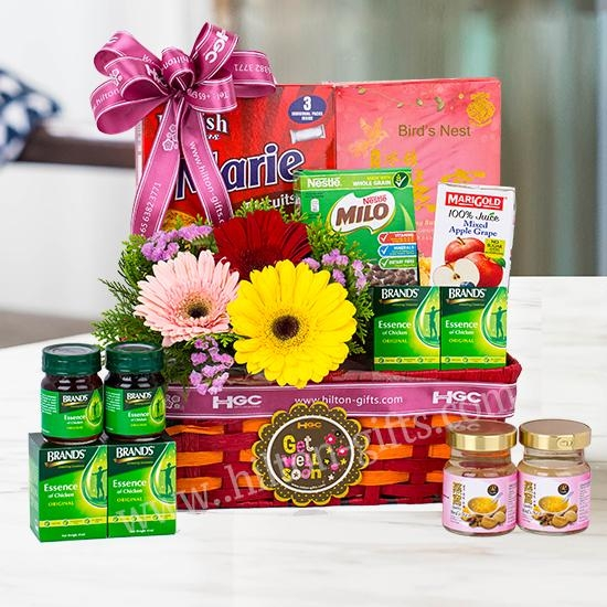 Abundant Vitality - Get well hamper (healthy food)