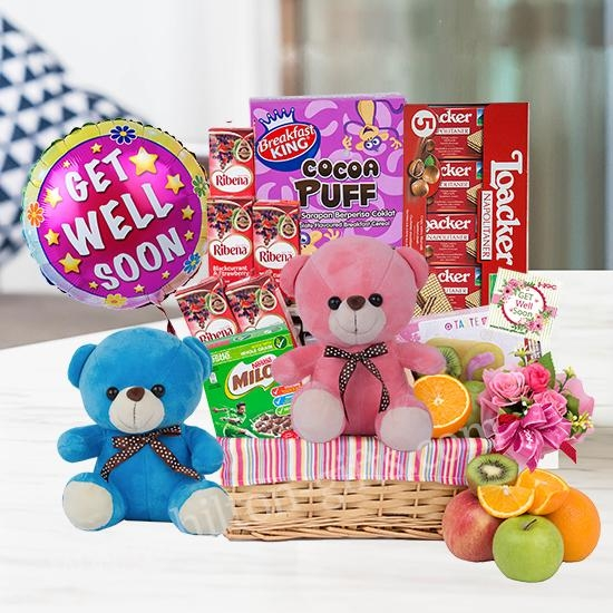 Pink of Health - Get well hamper (Healthy Food)