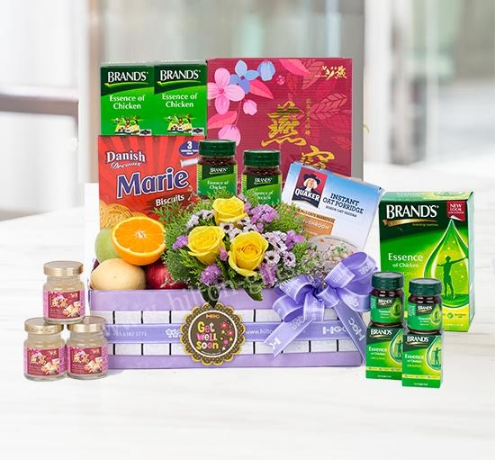 Pink of Health - Get well hamper (Healthy Food)