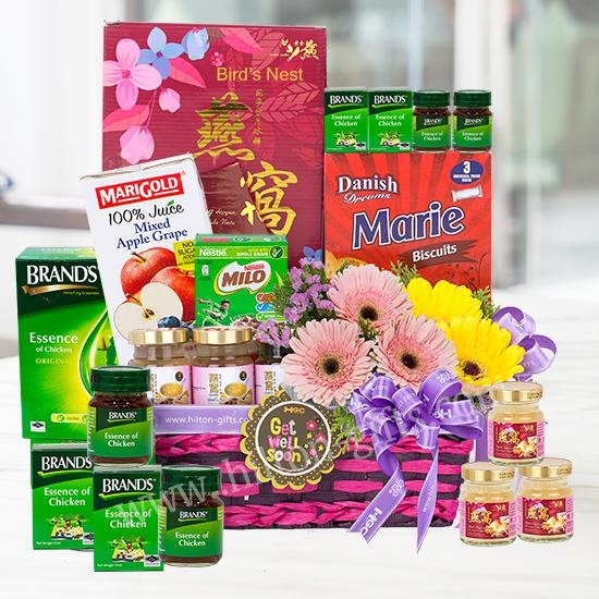 Jolly Health - Get well hamper (healthy food)