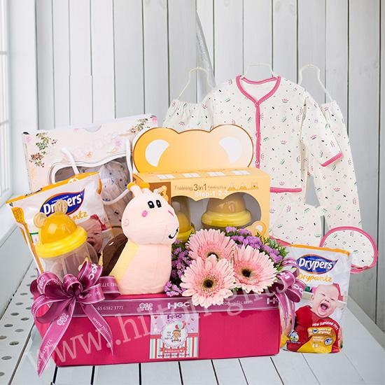 New Born Baby Hamper (Baby Balloon)