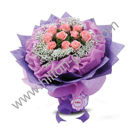 Hand Bouquet Lavender Love