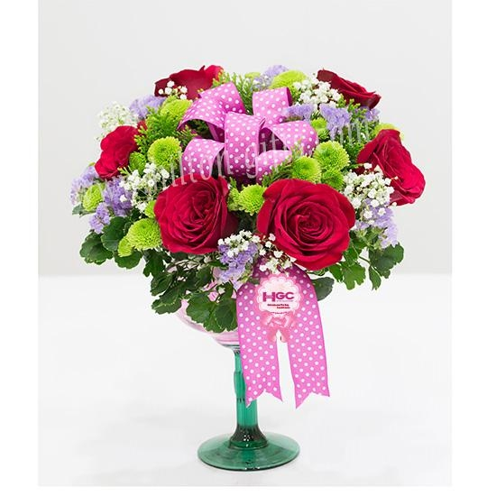 INTB 5 table bouquet