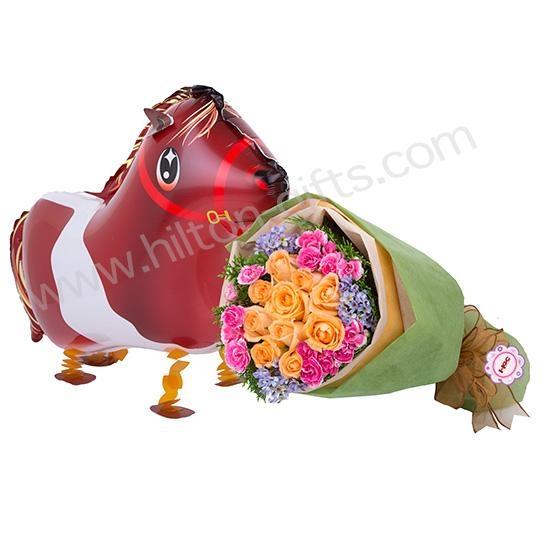 Hillium Balloon Horse