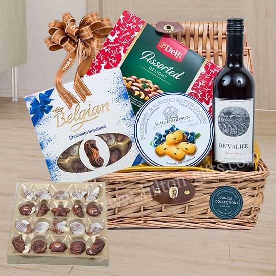 Chocolate & Wine Food Hamper