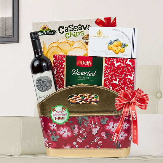 Wine & Chocolate Hamper
