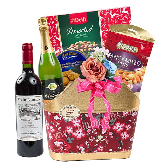 Food Hamper Red Wine