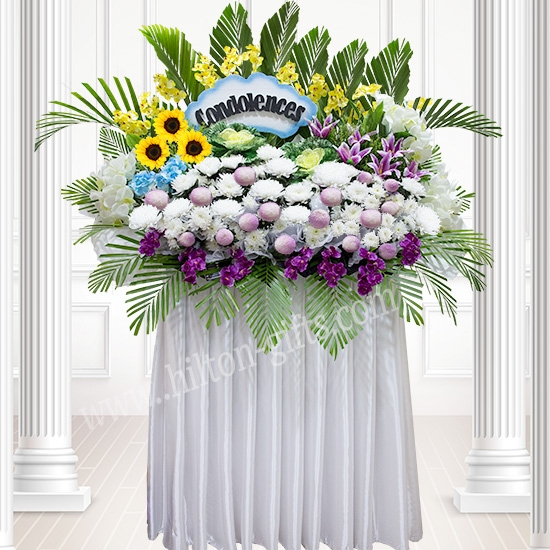 Super Big Condolence wreath flower
