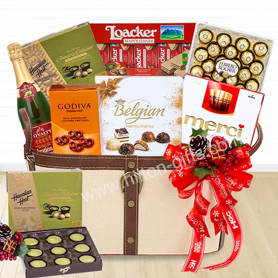 Christmas Godiva Chocolate Hamper