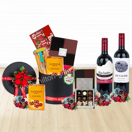 Christmas Chocolate Hamper