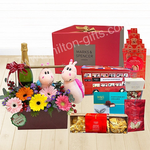Christmas Mark & Spencer Chocolate Hamper
