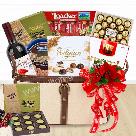 Christmas Chocolate Hamper Non-Alcohol