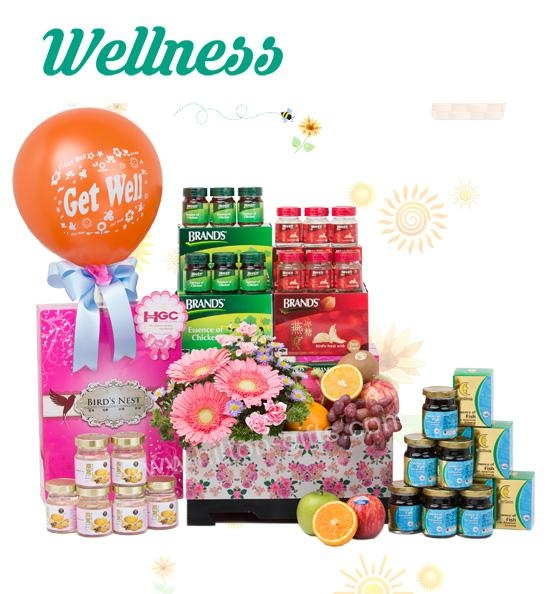 Get Well Hamper (Healthy Food)