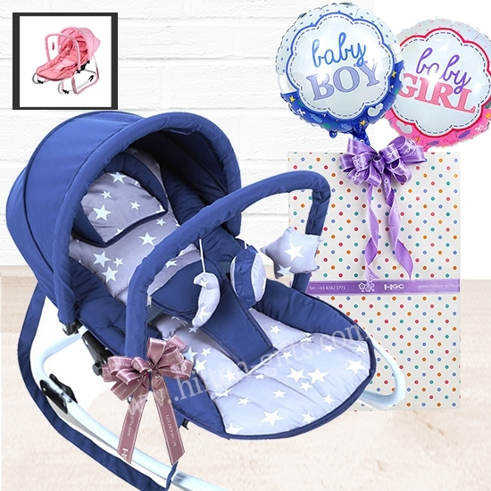 Baby Rocking Chair Blue