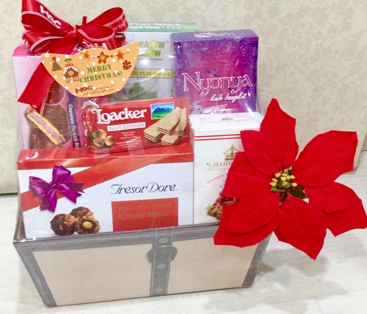 Christmas Chocolate Hamper Non Alcohol