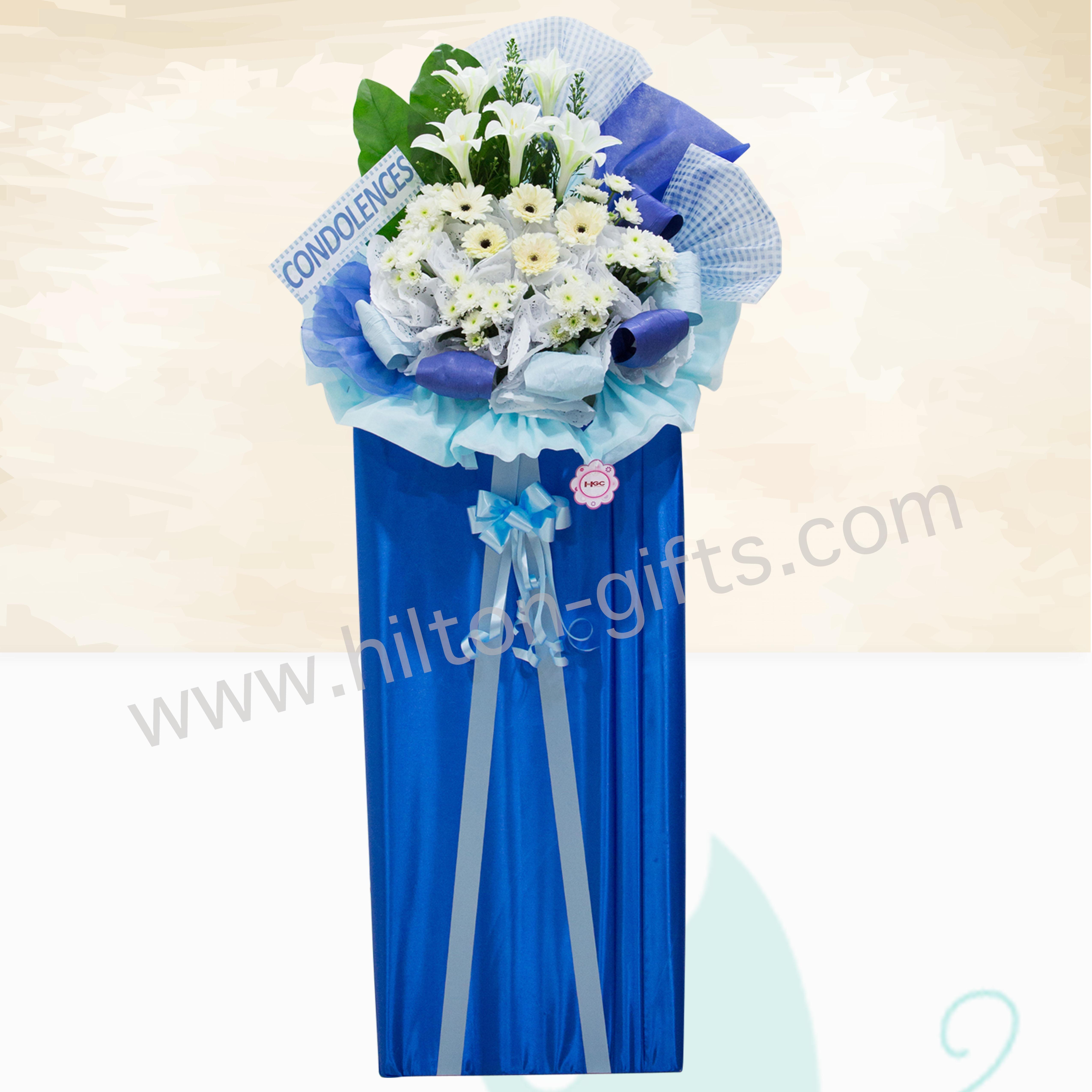 Condolence Blue