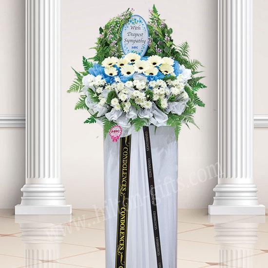 Condolence Wreath Flower